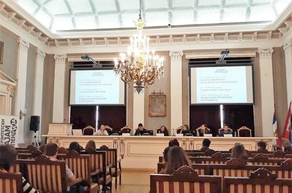 Panel diskusija, Sajam stipendija Univerziteta u Beogradu
