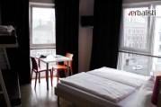 Izgled sobe u studentskom hostelu Meininger