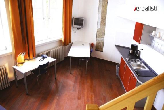 Skola nemackog GLS u Berlinu, standard tip apartmana