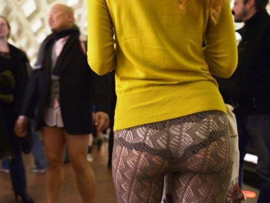 No Pants Subway Ride in Washington DC