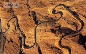 The Jebel Hafeet Mountain Road in the United Arab Emirates