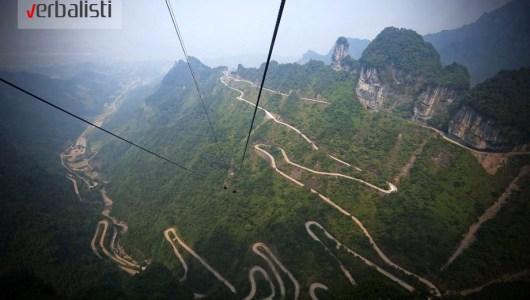 Tianmen Mountain Road, Hunan, China, photo 2