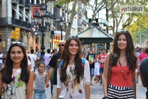 Verbalisti students in Barcelona, photo 3