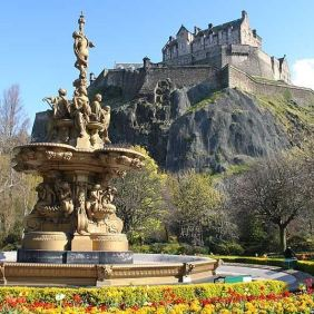 Edinburgh, 1,256,000 visitors in 2012