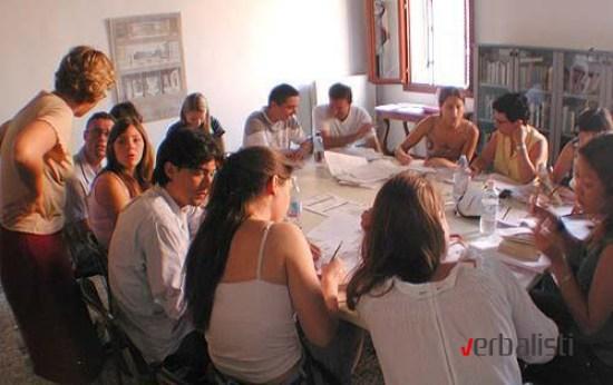 Verbalisti language students at Istituto Venezia