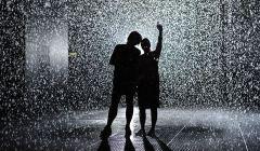 Rain room in London