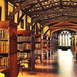 Oxford's Duke Humphrey's Library