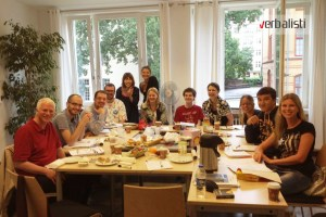Verbalists students at German language school, GLS