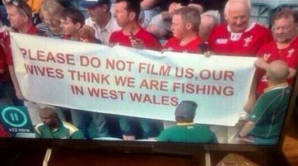 The best banner at the world cup