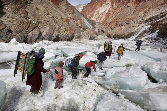 A Boarding School Through The Himalayas, Zanskar, Indian Himalayas