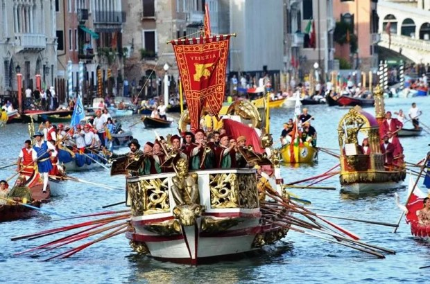 Every first Sunday in September, the spectacular Regata Storica parades down the Grand Canal