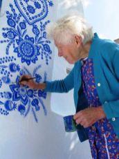 Grandmother Agnes Kašpárková