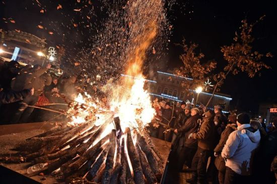 The Orthodox Christmas Eve in Serbia, Verbalists