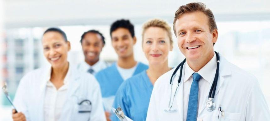 English language education for doctors