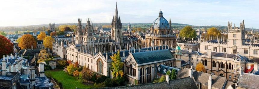 Oxford at the crack of dawn