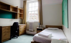 Bedroom, St Hugh's Oxford