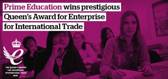 Kings Education wins Queen's Award for Enterprise