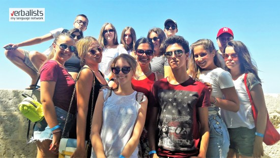Summer English language camps in Malta with Verbalists