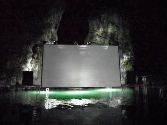 Floating cinema