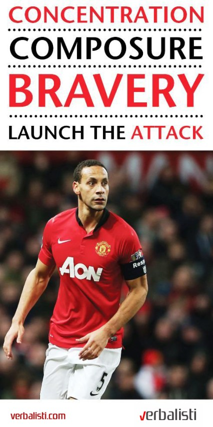 Manchester United soccer and language school, Launch the attack, Verbalisti