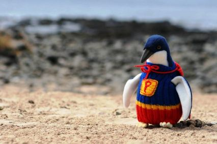 a Superpenguin jumper