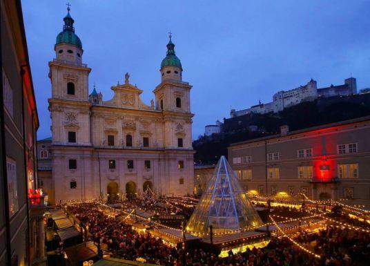 Christmas market in Salzburg