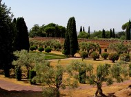 Veduta del Pecile - View of the Pecile