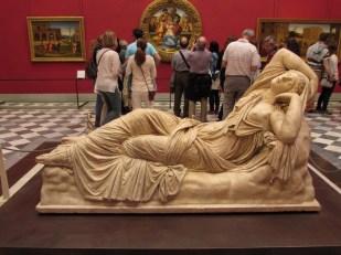 Arianna addormentata, II sec d.C, marmo asiatico