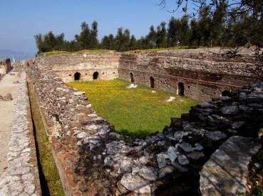 La piscina delle terme forse il Frigidarium