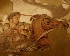 Alessandro Magno, mosaico, Casa del Fauno, Pompei - Museo Archeologico Napoli
