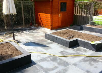Nieuwe achtertuin Papendrecht