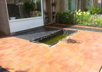 Nieuwe tuin in Barendrecht