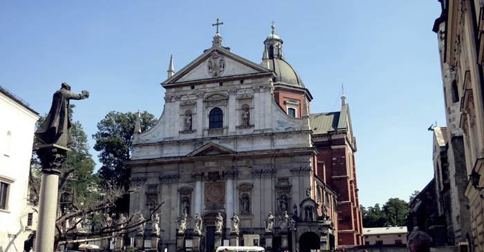 Qué ver en Cracovia - Iglesia de San Pedro y San Pablo