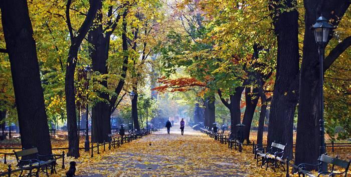 Qué ver en Cracovia - Parque Planty