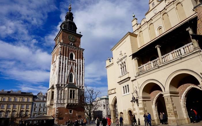 Qué ver en Cracovia - Torre del Antiguo Ayuntamiento