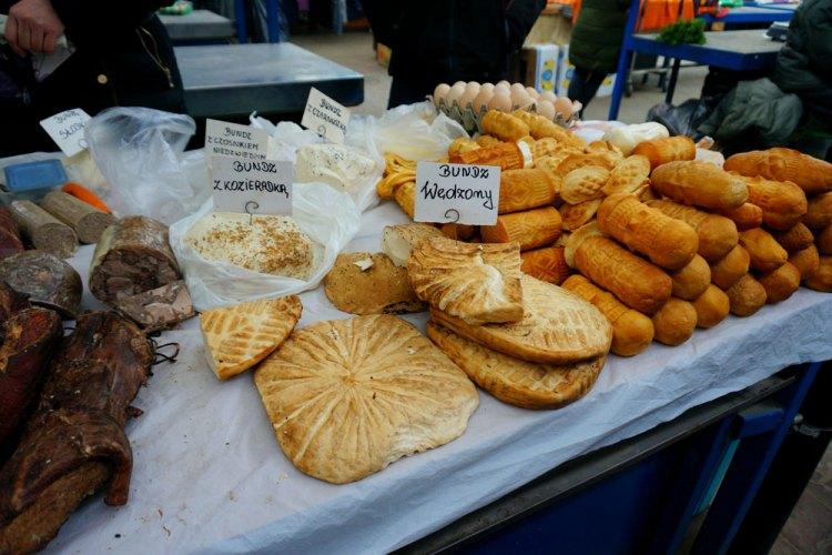 Comer en Cracovia - Quesos