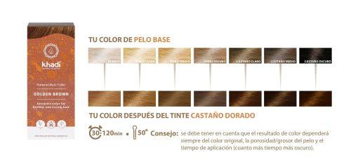 Herbal Color Castaño Dorado. 100 gr.
