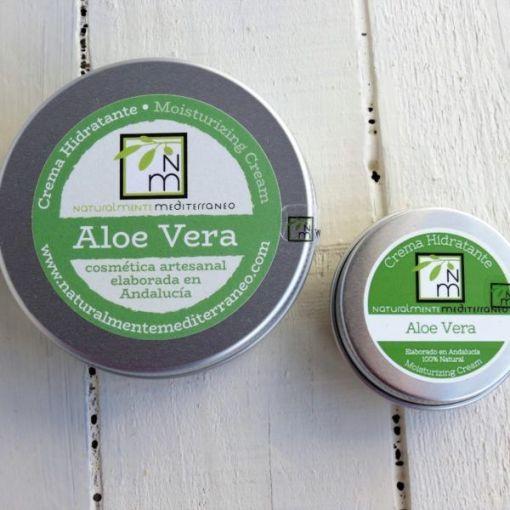 Crema Hidratante Aloe Vera