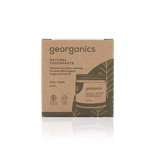 Dentífrico Natural con Aceite de Coco - Arbol de te: 120ml