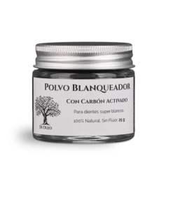 Polvo Blanqueador de Dientes con Carbón Activado