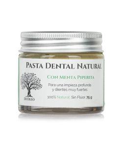 Pasta de Dientes Natural sin Flúor con Menta Piperita