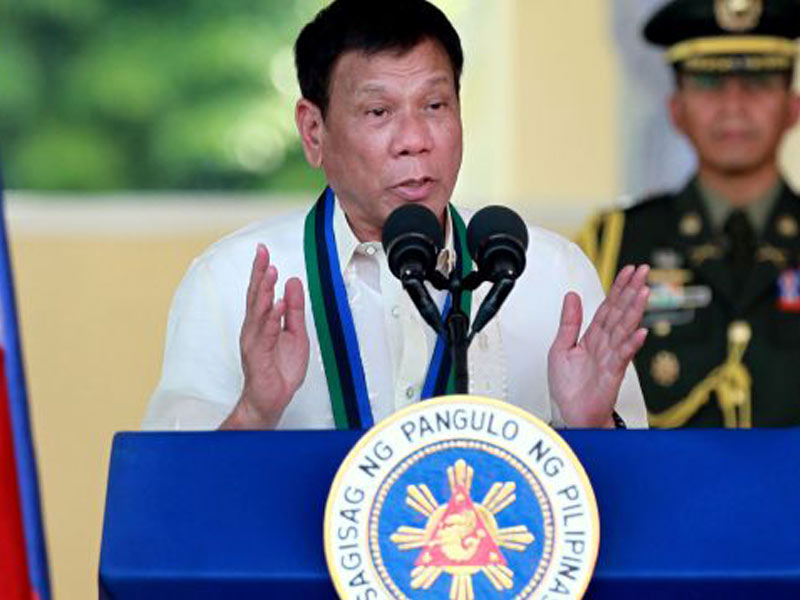 Filipinas defenderá una política independiente, afirma Duterte Filipinas defenderá una política independiente, afirma Duterte-VerdadDigital.com-