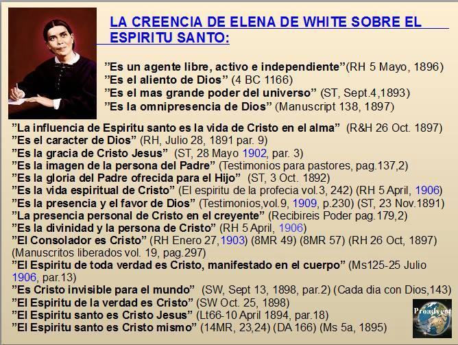 La Creencia de Elena de White sobre el Espíritu Santo – [Resumen]