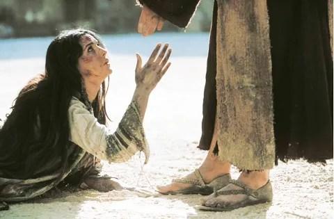 Resultat d'imatges de jesus y la mujer adultera
