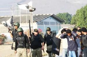 La evacuación de los reclusos se realizó en horas del día y de la noche /AVN