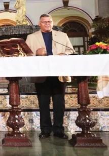 El pastor de la Guardia de Honor de la Academia MilitarAlexis Romero testificó de la fe del mandatario en Cristo Jesús