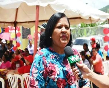 La alcaldesa de El Callao, Orlenia Scipio, apoyó la actividad cristiana