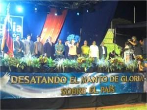 Pastores y ministros de diversas organizaciones cristianas, unidos en un mismo espíritu