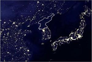 6 (2) north korea satellite nasa lights