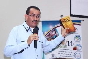 Pastor Caicaguare durante su intervención en la Cumbre Ventana 4/14 / VyV